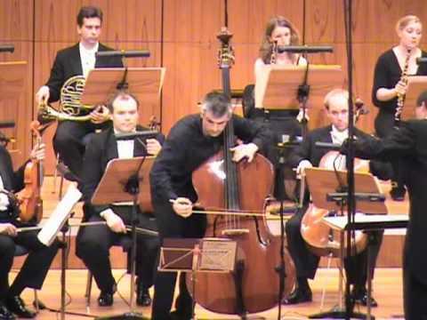 Capuzzi: double bass concerto (1st mov.) - Božo Paradžik (double bass), SWDKO/Sebastian Tewinkel