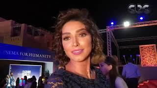 روجينا: لم أقص شعري من أجل مهرجان الجونة السينمائي