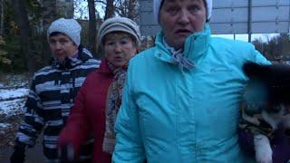 Жители перекрыли движение на Московском шоссе. Сергиев Посад