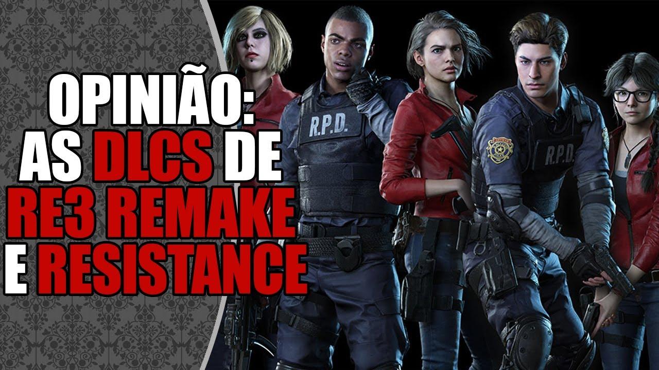 As POLÊMICAS DLCs de Resident Evil 3 Remake e Resistance 🔥 | DATABASE NEWS