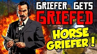*GRIEFER* SNIPES MY HORSE in Red Dead Online! Griefer Gets Griefed Ep 1 (Red Dead 2 Online Gameplay)