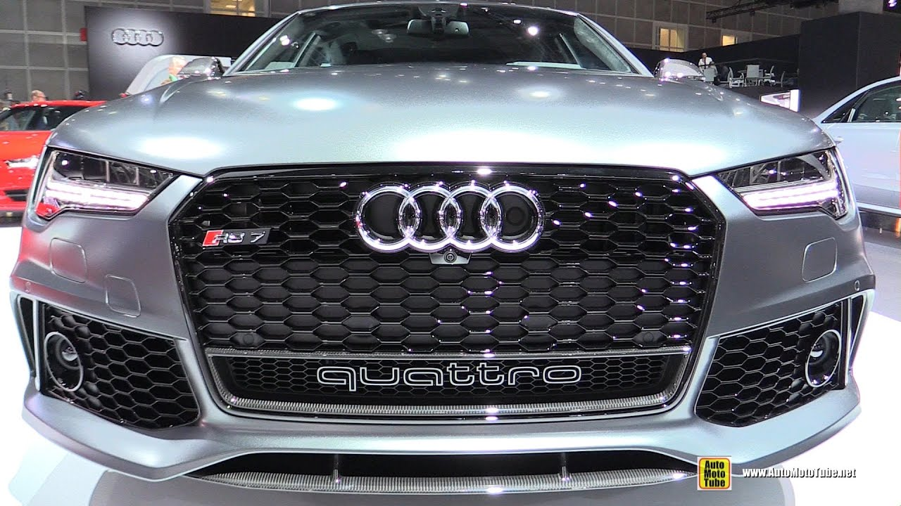 2017 audi rs7 exterior and interior walkaround 2016 la auto show youtube. Black Bedroom Furniture Sets. Home Design Ideas