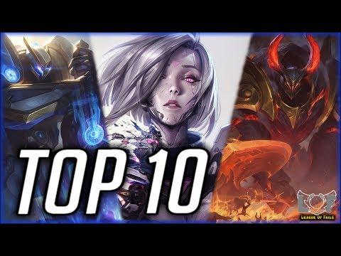 Top 10 Best Top Lane Champions Preseason 2020 - League Of Legends | LoL Top Lane Montage