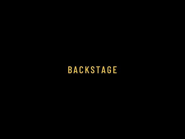 Il titolare: backstage