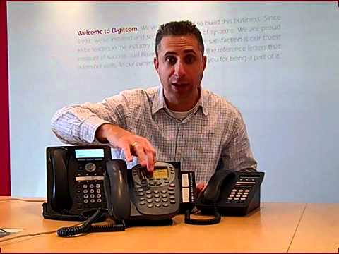 Avaya Phones: Avaya IP Office 1400 & 1600 Series Handsets.