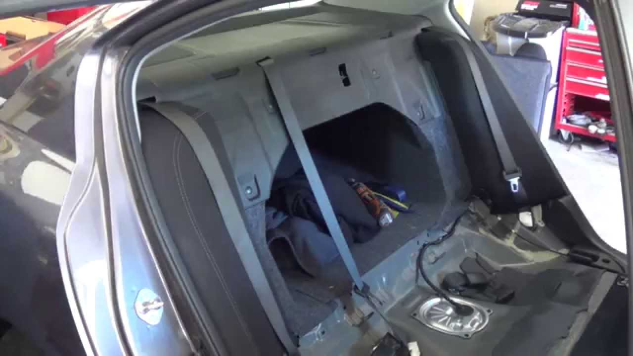 2012 Honda Accord Wiring Diagram Toyota Symbols 2013 Removing Replacing Rear Speakers - Youtube