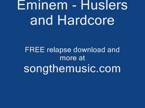 Eminem Hustlers and Hardcore 2009 Rap Eminem