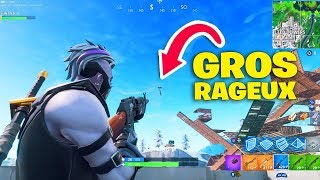 1vs1 contre un gros RAGEUX fan de TheKAIRI78 sa mère le FRAPPE ! Fortnite Battle Royale