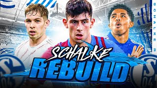 I REBUILD SCHALKE 04 & lost my mind when EA STOLE MY WONDERKID! 😡 - FIFA 21 CARE