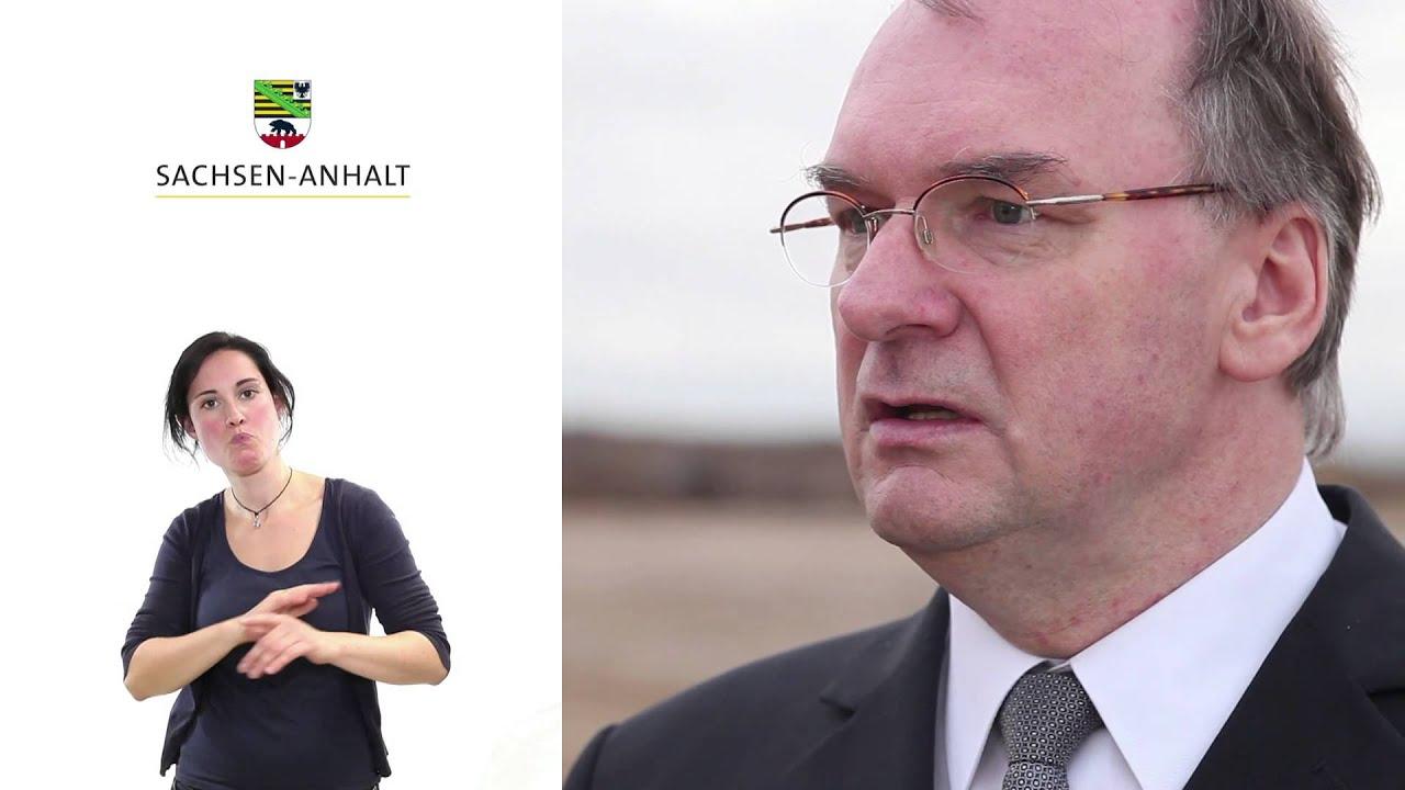 Videobotschaft Reiner Haseloff Investitionen amerikanischer ...