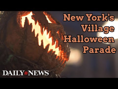 Scenes from the New York City Village Halloween Parade