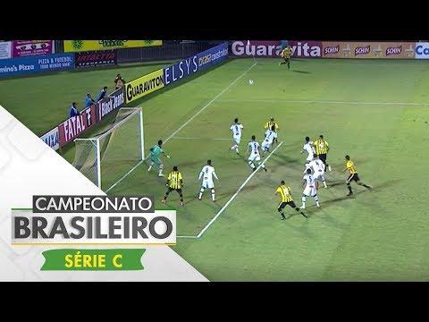 Melhores Momentos - Volta Redonda 2 x 2 Tupi - Série C (04/09/17)