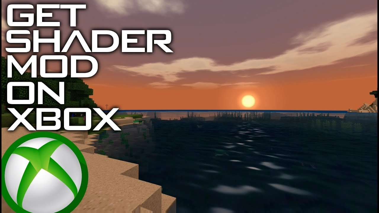 How to download Water Shader Mod on Minecraft XboxOne (Tutorial)