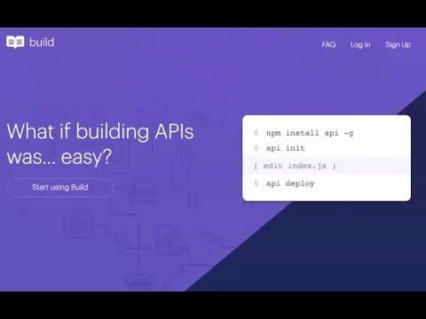 readme io's Build Looks To Greatly Simplify API Provisioning