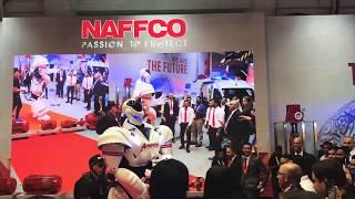 NAFFCO robotic dance | Intersec 2019 | Dubai World Trade Center انترسك  | نافكو