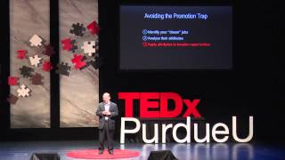 Beware of the promotion trap | Glenn Weissinger | TEDxPurdueU