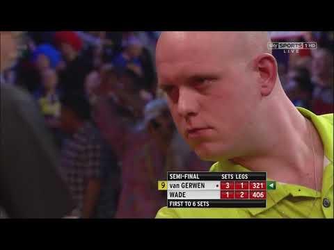 Michael van Gerwen - 17 Perfect Darts (HD)