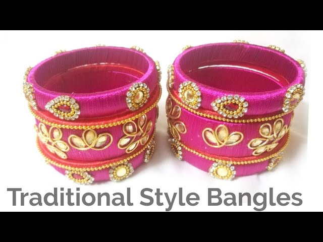 Traditional Bridal Bangles | Indian Crafty