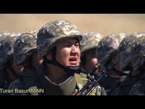 KAZAKHSTAN MILITARY HELL MARCH Казахская Армия HD
