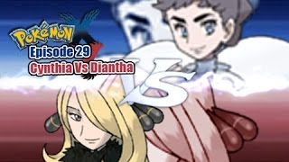Pokemon X and Y WiFi Battle: Cynthia Vs Diantha