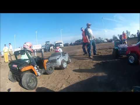 Power Wheels {Demolition Derby}[on board cam] OCTOBERBASHFEST1* Salina Speedway 10-15-16