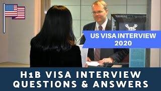 H1B Visa Interview Questions & Answer   H1B Visa interview in India