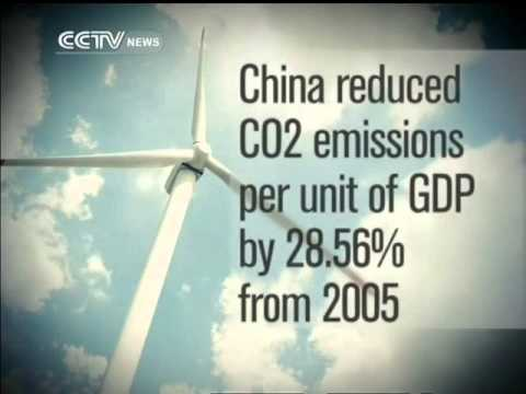 China committed to cutting down CO2 emissions