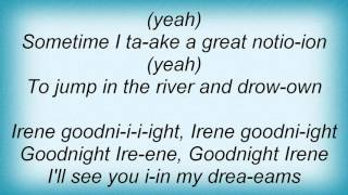 Little Richard - Goodnight Irene Lyrics