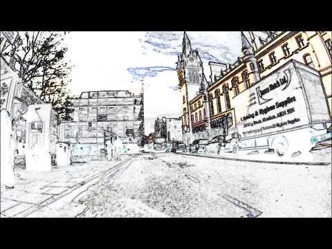 Pedal Fast bike courier. Aberdeen