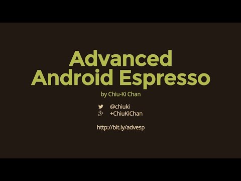 Advanced Android Espresso