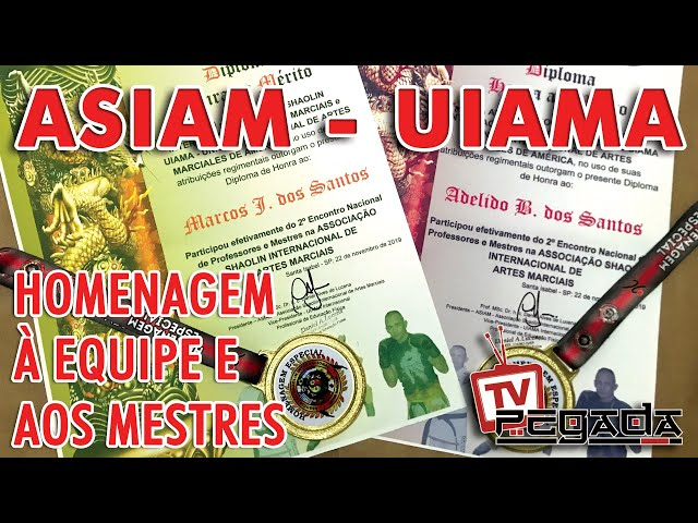 Homenagem ASIAM / UIAMA - TV Pegada #181