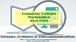 Connecter VMWare Workstation avec GNS3 (KHALID KATKOUT)