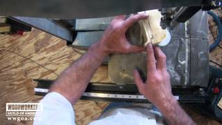 Woodworking Tips: Band Saw - Benefits Of Small Blade On Band Saw