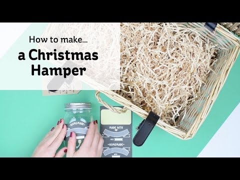 How to make a Christmas hamper | Hobbycraft