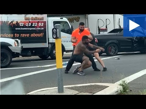 Man Repeatedly Punched In The Head In Brutal Road Rage Brawl
