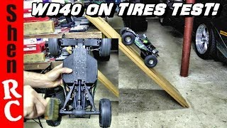 WD40 RC TIRE TRACTION COMPOUND TEST DOES IT WORK?