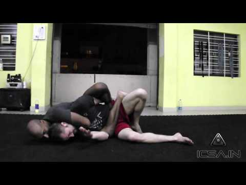 Bangalore Martial Arts: Hand Trap to Rear Naked Choke @ Indian Combat Sports Academy