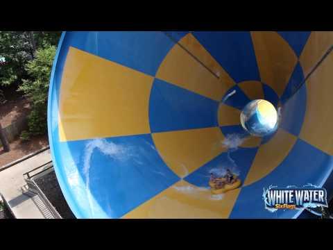 Six Flags White Water: Tornado B-Roll