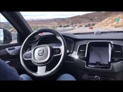 2017 Volvo XC90 Autopilot II at 65mph