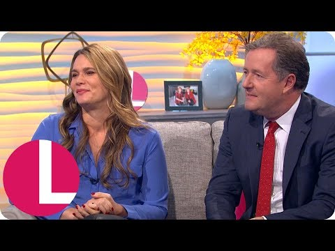 Celia Walden: What It's Like Being Married to Piers Morgan | Lorraine