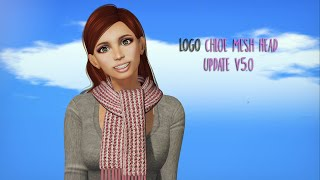 LOGO Chloe Mesh Head Update v5 by Fashiowl