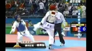 2012倫敦奧運 跆拳道加油 台灣加油.avi