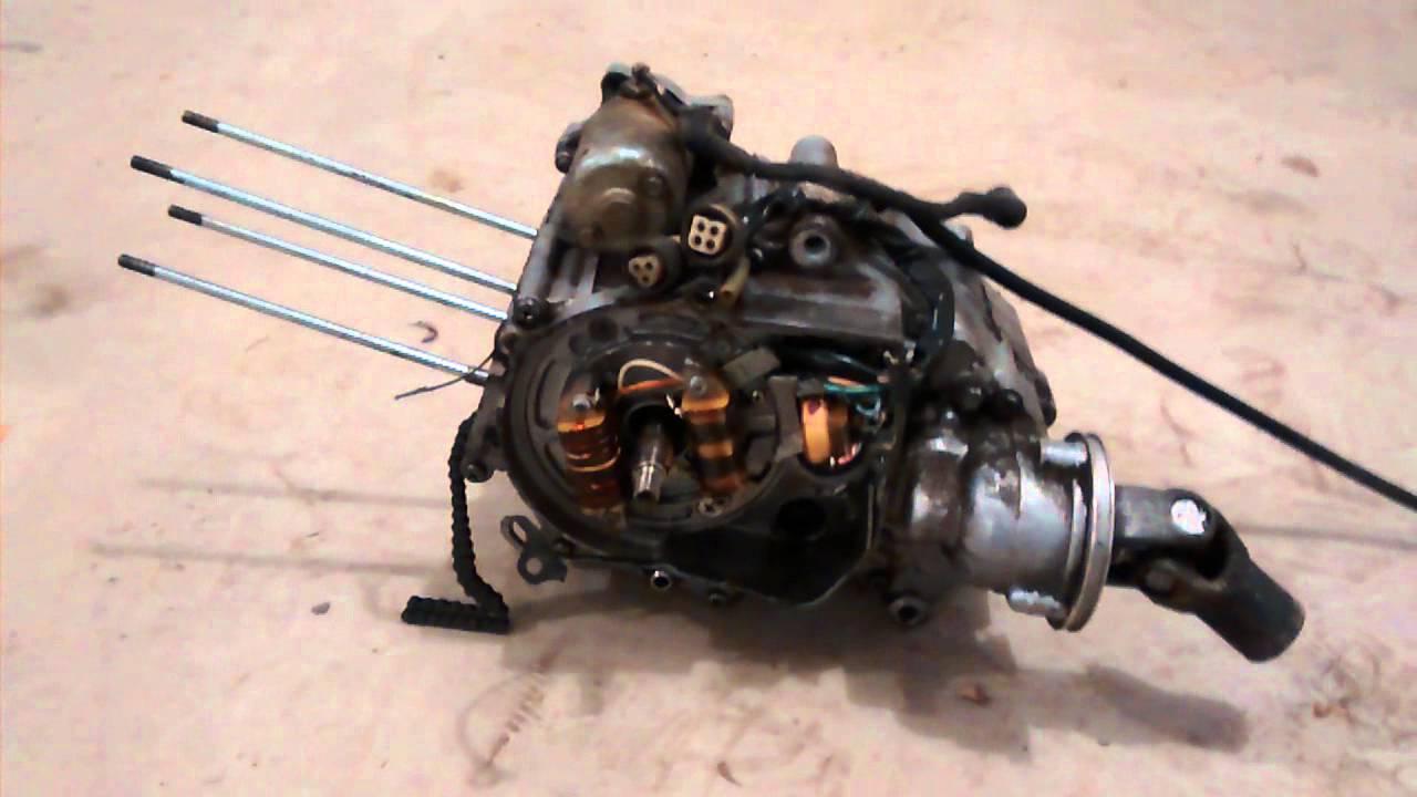 1985 Yamaha Moto 4 Wheeler 80cc Yfm80 Engine