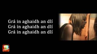 I knew you were trouble le Taylor Swift as Gaeilge