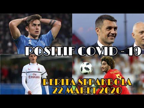 Paulo Dybala positif virus Corona,Paolo Maldini dan Daniel Maldini Positif,Fellaini Positif Covid-19