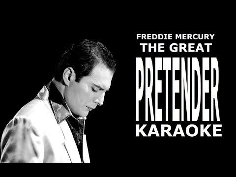 Freddie Mercury - The Great Pretender (Karaoke)