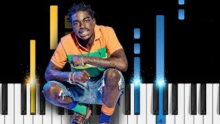Kodak Black - ZEZE feat. Travis Scott & Offset - Piano Tutorial