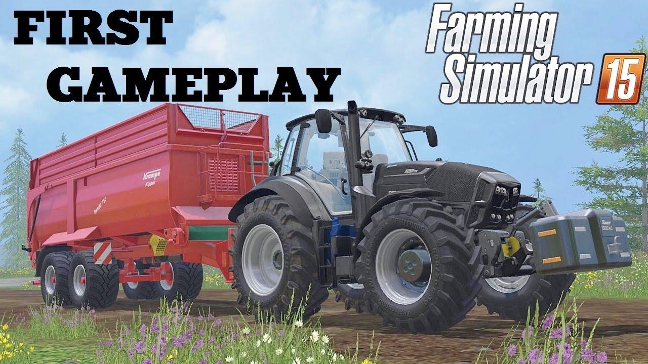 Farming Simulator 15 Primo gamepaly e prime impressioni