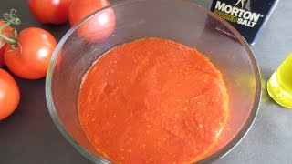 BEST way to make and store TOMATO PUREE for months!|Poonam's Kitchen