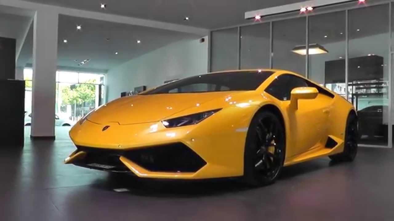 Picking Up Our Brand New Lamborghini Huracan Youtube